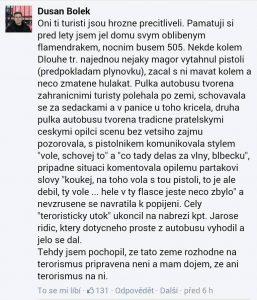 Česká republika není připravená na teroristy a teroristi nejsou připravení na Českou republiku