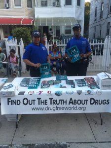 Svět bez drog – pobočka New York (Drug-Free World New York)