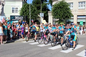 Cyklo-běh pořádaný sdružením Řekni NE drogám - Řekni ANO životu