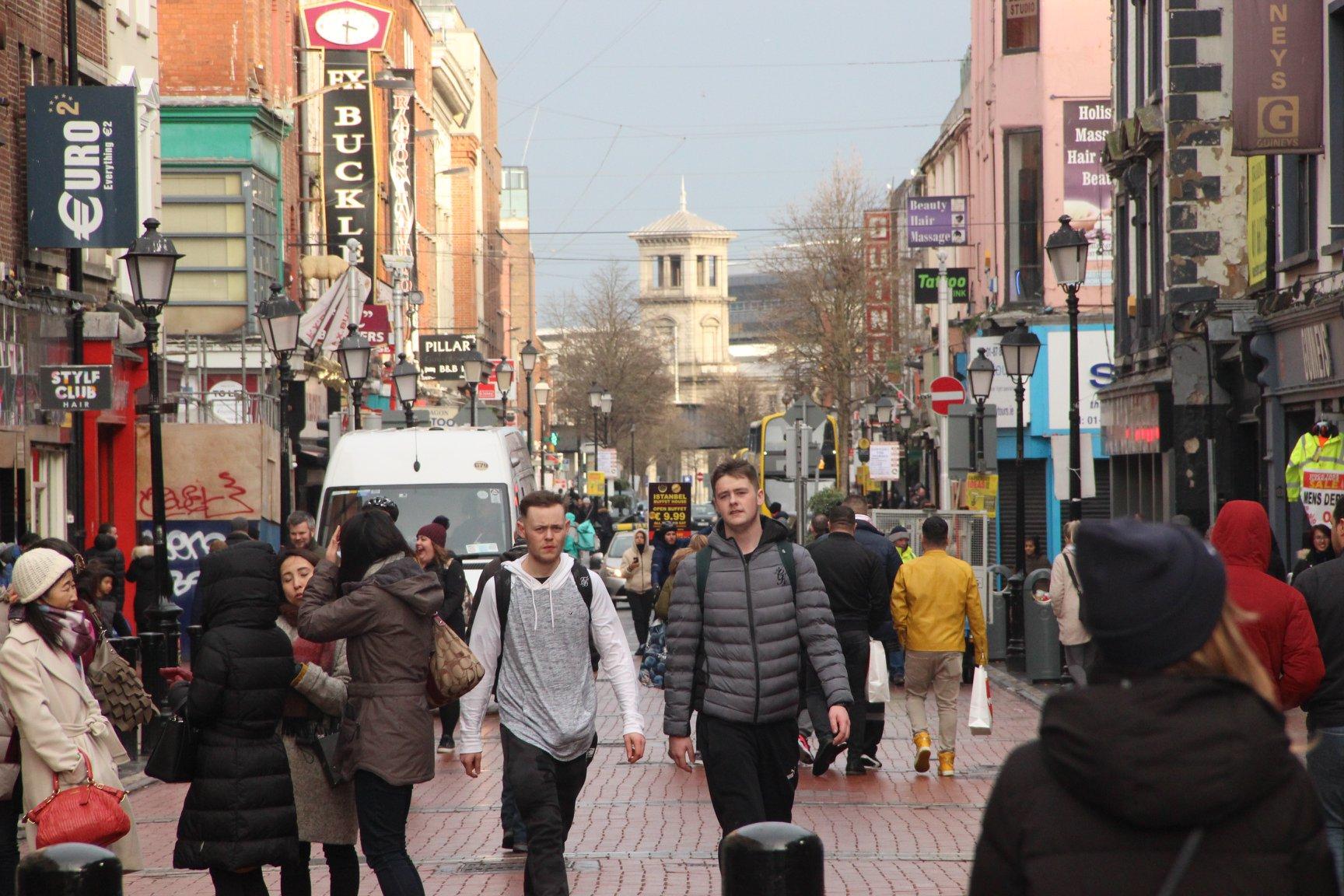 Dublinje hlavním městem Irské republiky.
