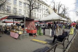 Byt 3+kk na pronájem, 110 m2, Praha 2 - Vinohrady, Mánesova ul Farmářské trhy na Náměstí Jiřího z Poděbrad