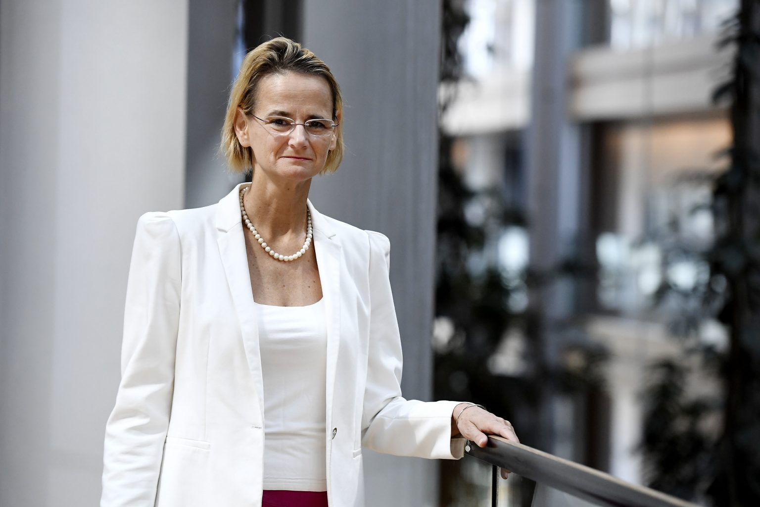 Enikő Győri, poslankyně maďarského vládnoucího Fideszu