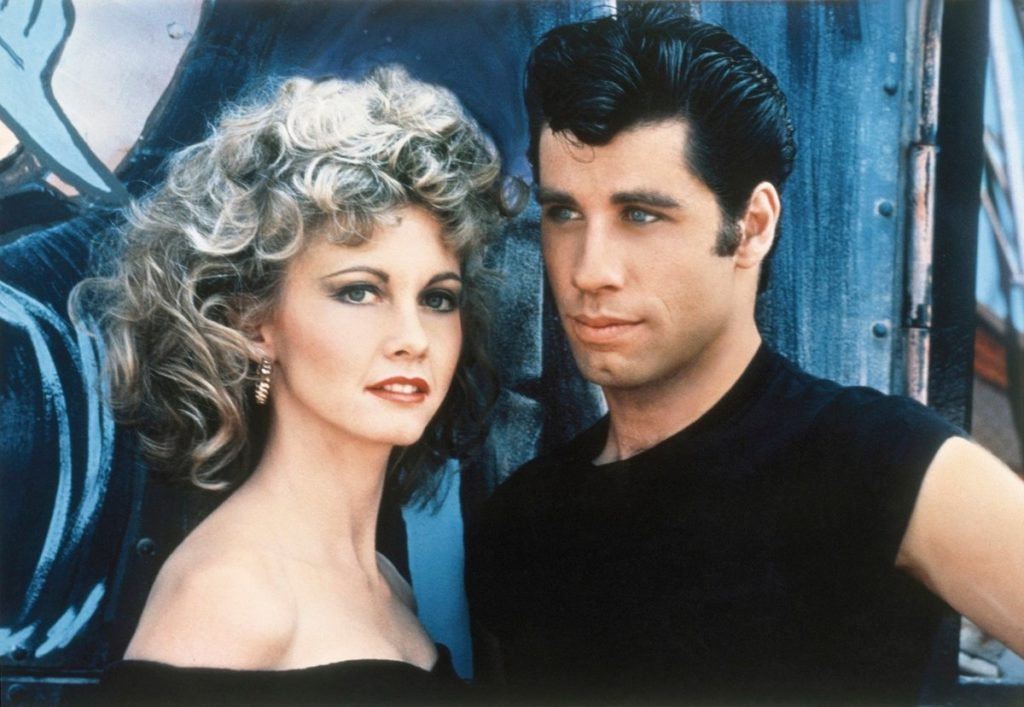 John Travolta Olivia Newton John - film Pomáda Grease.jpg