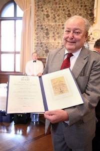Prof. MUDr. Pavel Klener, DrSc. - Diplom senátu k ocenění Českou hlavou
