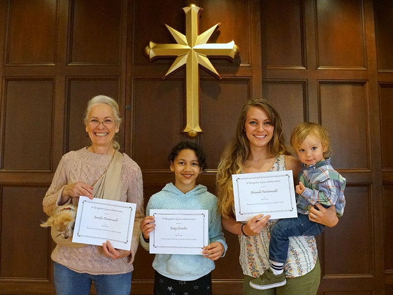 Scientologická církev Nashville ocenila nejlepší dobrovolníky