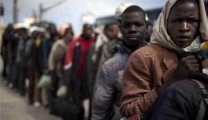černoši z Afriky v Evropě