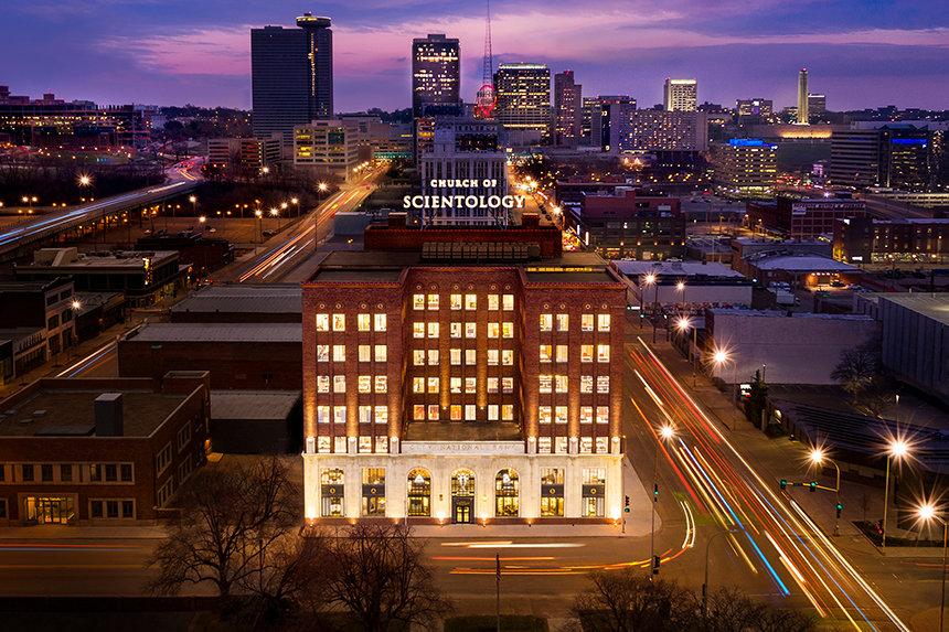 Scientologická církev Kansas City sídlí v nové budově