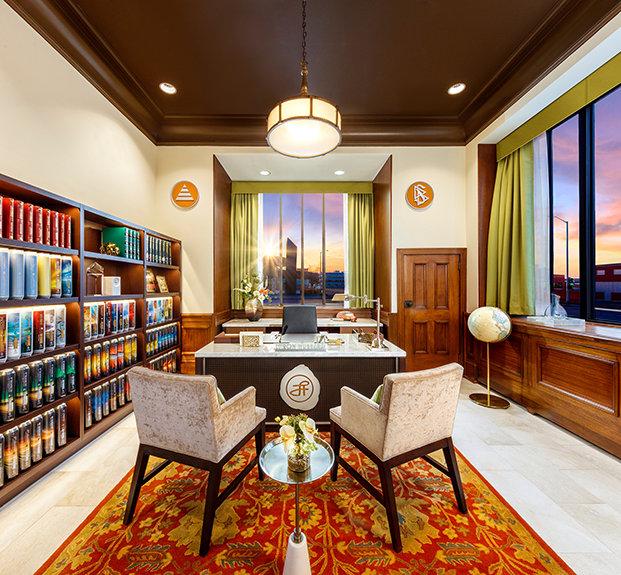 kancelář L. Ron Hubbarda Scientologické církve Kansas City, Missouri