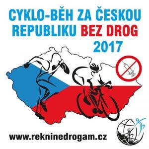 Slavnostní zahájení 15. ročníku Cyklo-běhu proběhlo v pondělí 12. června 2017 - ŘEKNI NE DROGÁM – ŘEKNI ANO ŽIVOTU
