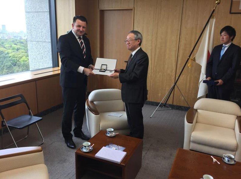 Policejní prezident genmjr. Tomáš Tuhý navštívil Japonsko