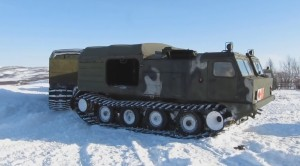 ruské teréní vozidlo