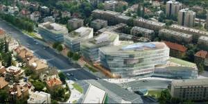 vizualizace obchodního centra Bořislavka