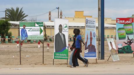 zvýšení politické stability Mauretánie